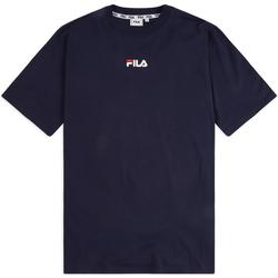 tekstylia Męskie T-shirty z krótkim rękawem Fila 687484 Niebieski