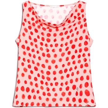 tekstylia Damskie Topy / Bluzki Nero Giardini E062810D Różowy