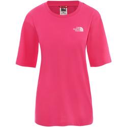 tekstylia Damskie Sukienki krótkie The North Face NF0A4CESWUG1 Różowy