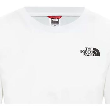 tekstylia Damskie T-shirty z krótkim rękawem The North Face NF0A4CESFN41 Biały