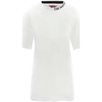 tekstylia Damskie T-shirty z krótkim rękawem The North Face NF0A491QFN41 Biały