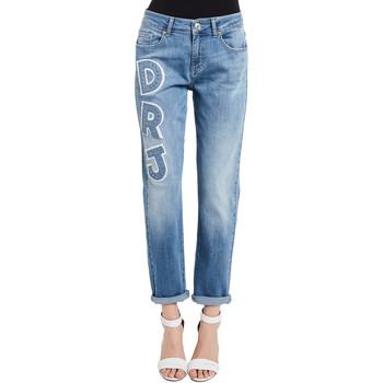 tekstylia Damskie Jeansy Denny Rose 011ND26013 Niebieski
