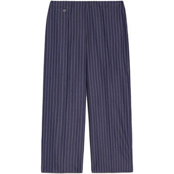 tekstylia Damskie Krótkie spodnie NeroGiardini E060151D Niebieski