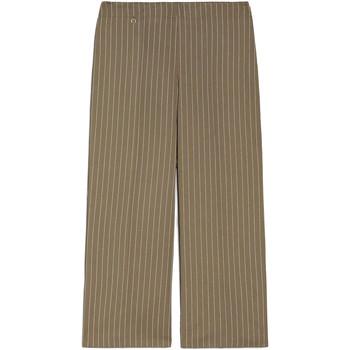 tekstylia Damskie Spodnie z lejącej tkaniny / Alladynki NeroGiardini E060151D Zielony