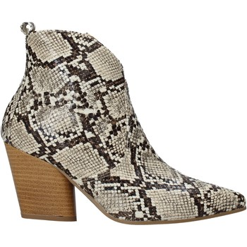 Buty Damskie Botki Grace Shoes 7241007 Beżowy