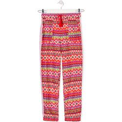tekstylia Dziecko Spodnie z lejącej tkaniny / Alladynki Losan 014-9014AL Czerwony