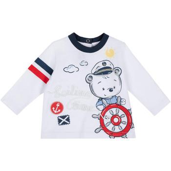 tekstylia Dziecko T-shirty z długim rękawem Chicco 09006877000000 Biały