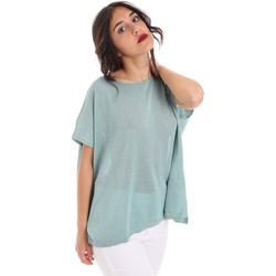tekstylia Damskie Topy / Bluzki Gaudi 011FD53011 Niebieski
