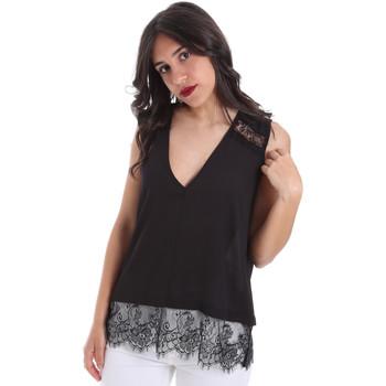 tekstylia Damskie Topy / Bluzki Gaudi 011FD45055 Czarny