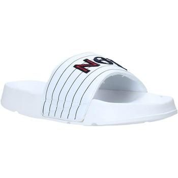 Buty Męskie klapki Navigare NAM019050 Biały