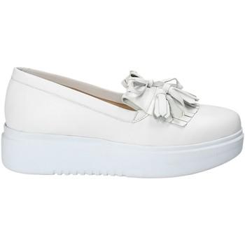 Buty Damskie Tenisówki Exton E01 Biały