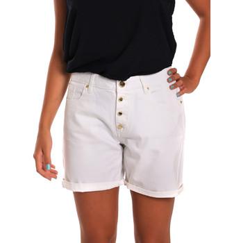 tekstylia Damskie Szorty i Bermudy Gaudi 811BD25015 Biały