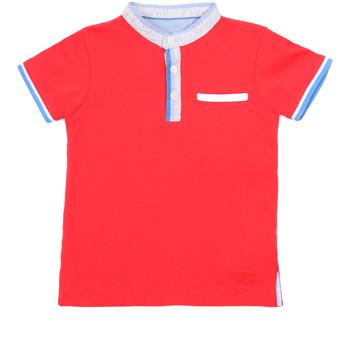 tekstylia Dziecko Koszulki polo z krótkim rękawem Losan 015-1791AL Czerwony