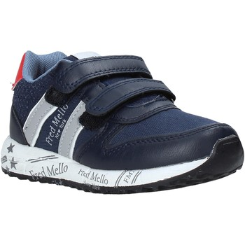 Buty Chłopiec Trampki niskie Fred Mello S20-SFK318 Niebieski