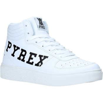 Buty Damskie Trampki wysokie Pyrex PY020234 Biały