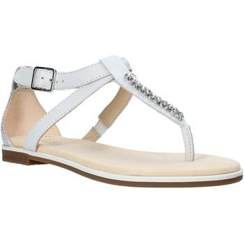 Buty Damskie Sandały Clarks 26142165 Biały