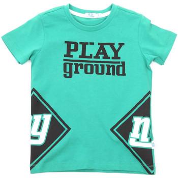 tekstylia Dziecko T-shirty z krótkim rękawem Melby 70E5544 Zielony