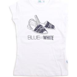 tekstylia Dziecko Topy na ramiączkach / T-shirty bez rękawów Melby 70E5645 Biały