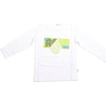 tekstylia Dziecko T-shirty z długim rękawem Melby 70C5524 Biały