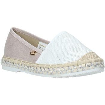 Buty Dziewczynka Espadryle Miss Sixty S20-SMS704 Biały