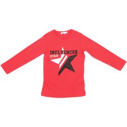 tekstylia Dziecko T-shirty z długim rękawem Melby 70C5615 Czerwony