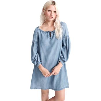tekstylia Damskie Sukienki krótkie Superdry W8010099A Niebieski