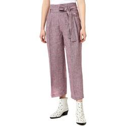 tekstylia Damskie Spodnie z lejącej tkaniny / Alladynki Liu Jo FA0211 T4185 Fioletowy