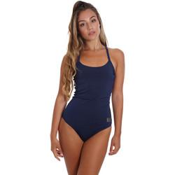 tekstylia Damskie Kostium kąpielowy jednoczęściowy Ea7 Emporio Armani 911029 CC417 Niebieski