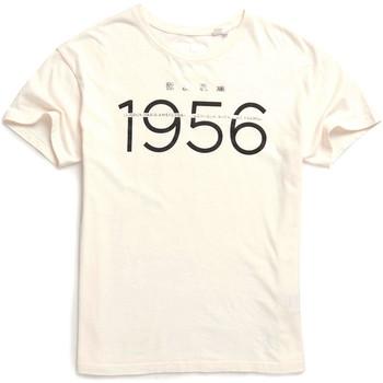tekstylia Damskie T-shirty z krótkim rękawem Superdry W1000001A Biały