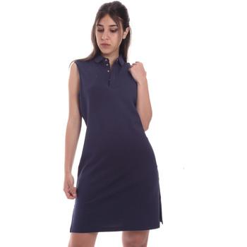 tekstylia Damskie Sukienki krótkie Ea7 Emporio Armani 3HTA58 TJI3Z Niebieski