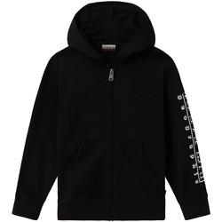 tekstylia Dziecko Bluzy dresowe Napapijri NP0A4EB1 Czarny