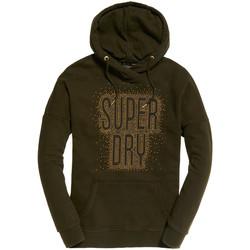 tekstylia Damskie Bluzy Superdry G20950YR Zielony