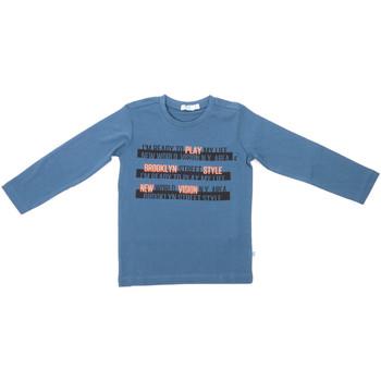 tekstylia Dziecko T-shirty z długim rękawem Melby 70C5524 Niebieski
