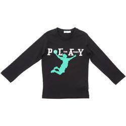 tekstylia Dziecko T-shirty z długim rękawem Melby 70C5524 Czarny