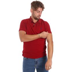 tekstylia Męskie Koszulki polo z krótkim rękawem U.S Polo Assn. 55957 41029 Czerwony