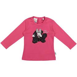 tekstylia Dziecko T-shirty z długim rękawem Melby 20C2101DN Różowy
