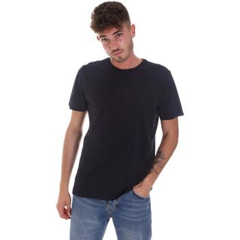 tekstylia Męskie T-shirty z krótkim rękawem Navigare NV31128 Niebieski