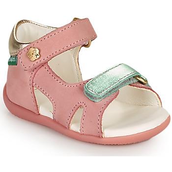 Buty Dziewczynka Sandały Kickers BINSIA-2 Różowy