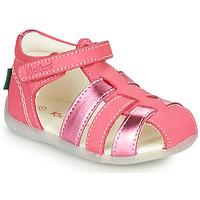 Buty Dziewczynka Sandały Kickers BIGFLO-2 Różowy