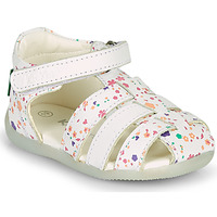 Buty Dziewczynka Sandały Kickers BIGFLO-2 Biały