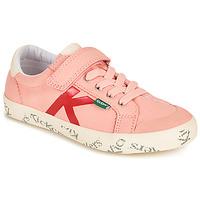 Buty Dziewczynka Trampki niskie Kickers GODY Różowy