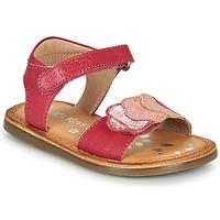 Buty Dziewczynka Sandały Kickers DYASTAR Różowy