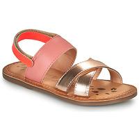 Buty Dziewczynka Sandały Kickers DYACROSS Różowy