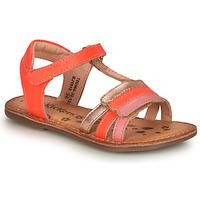 Buty Dziewczynka Sandały Kickers DIAMANTO Różowy