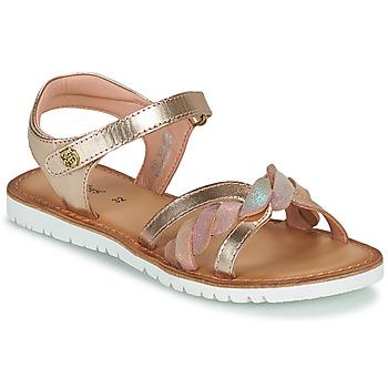 Buty Dziewczynka Sandały Kickers BETTYL Różowy