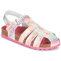 Buty Dziewczynka Sandały Kickers SUMMERTAN Biały
