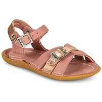 Buty Dziewczynka Sandały Kickers PEPETE Różowy