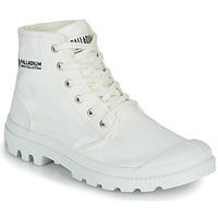 Buty Buty za kostkę Palladium PAMPA HI ORGANIC II Biały