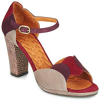 Buty Damskie Sandały Chie Mihara ADAIR Bordeaux / Beżowy