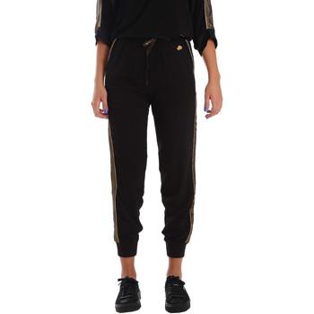 tekstylia Damskie Spodnie dresowe Fornarina BE171L96C99700 Czarny